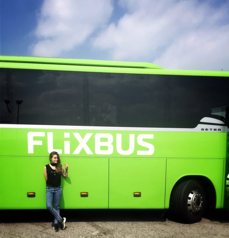 flixbus, viaggiare con flixbus, autobus low cost, the lazy trotter, viaggiare low cost