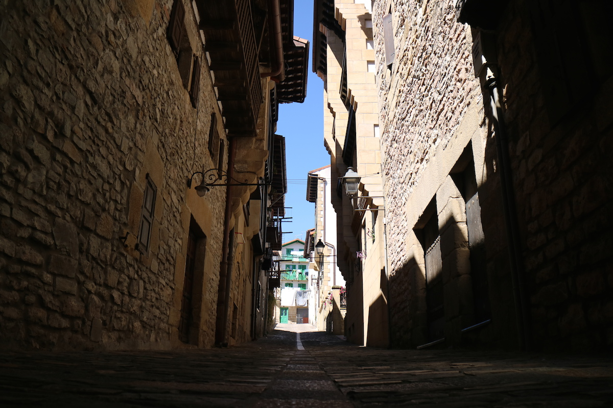 spagna del nord, paesi baschi, hondarribia
