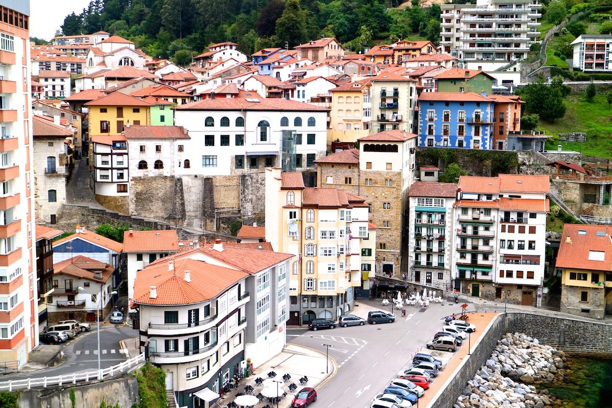 spagna del nord, paesi baschi, mutriku