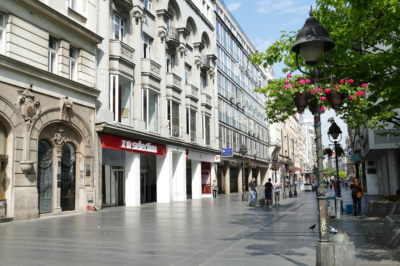 città europee economiche, belgrado