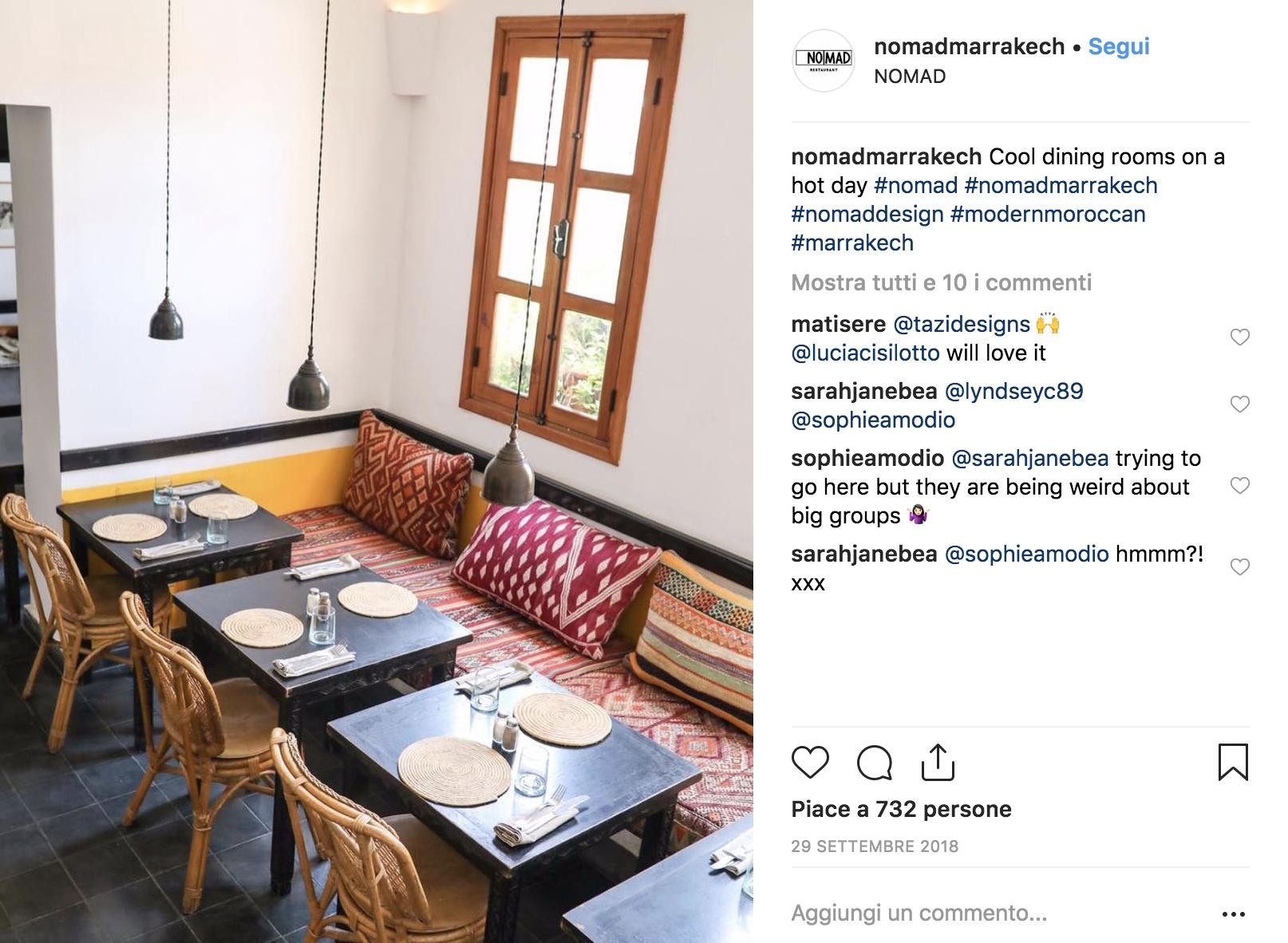 dove mangiare a marrakech, ristoranti a marrakech