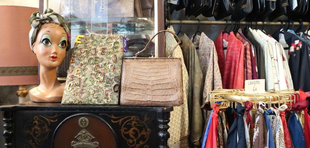 negozi vintage a lisbona, shopping lisbona