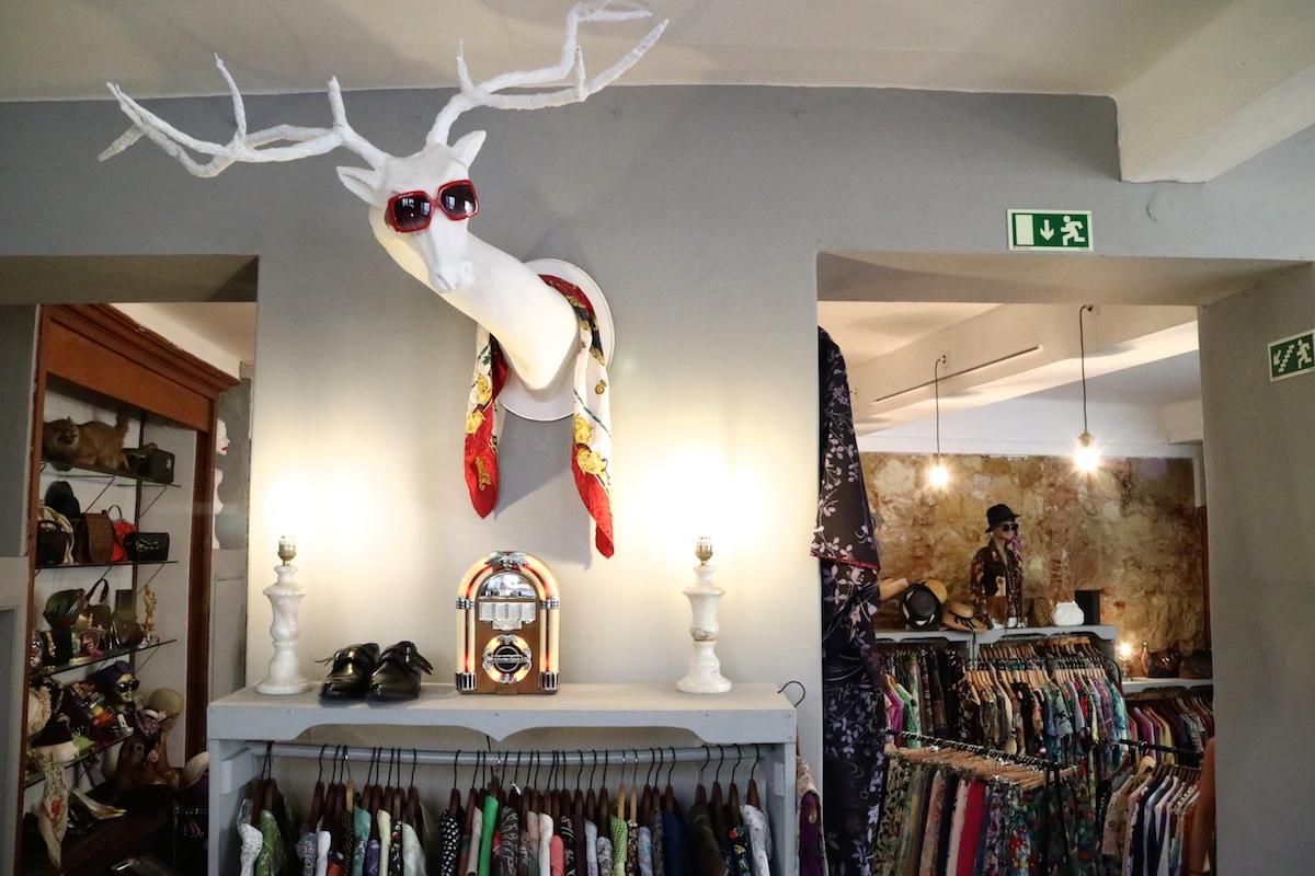 negozi vintage a lisbona, shopping a lisbona