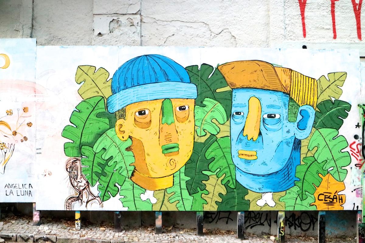 visitare lisbona, street art a lisbona