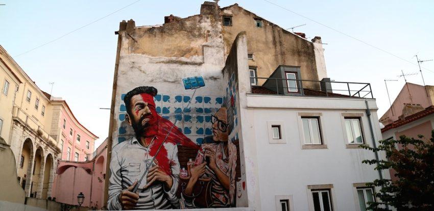 Visitare Lisbona e la sua Street Art: tutte le tappe da non perdere