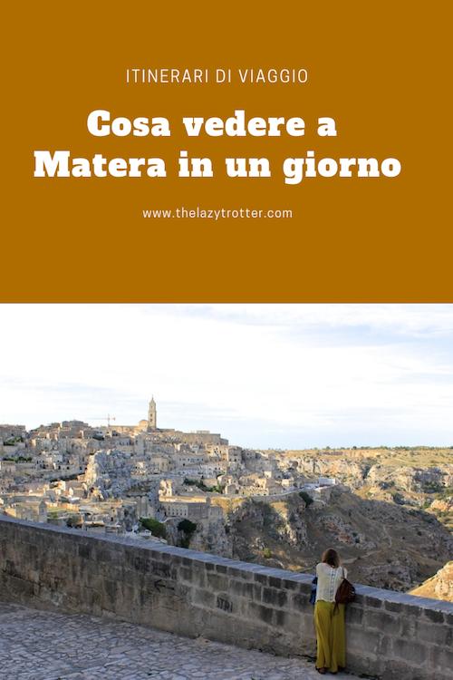 Cosa vedere a Matera