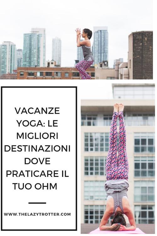 vacanze yoga, viaggi yoga