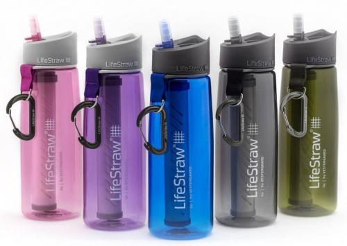 regali per viaggiatori, Bottiglia filtrante LifeStraw Go