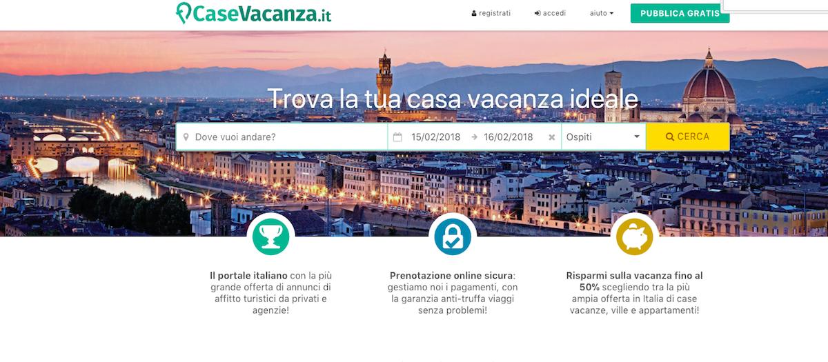 siti come airbnb, siti per affittare case vacanze