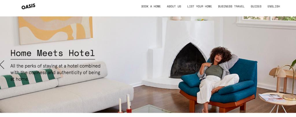 siti come airbnb, siti per affittare case vacanze, oasis