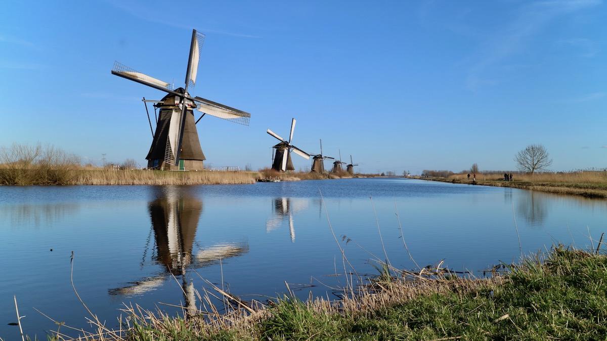 cosa vedere a rotterdam, Kinderdijk, mulini a vento olandesi