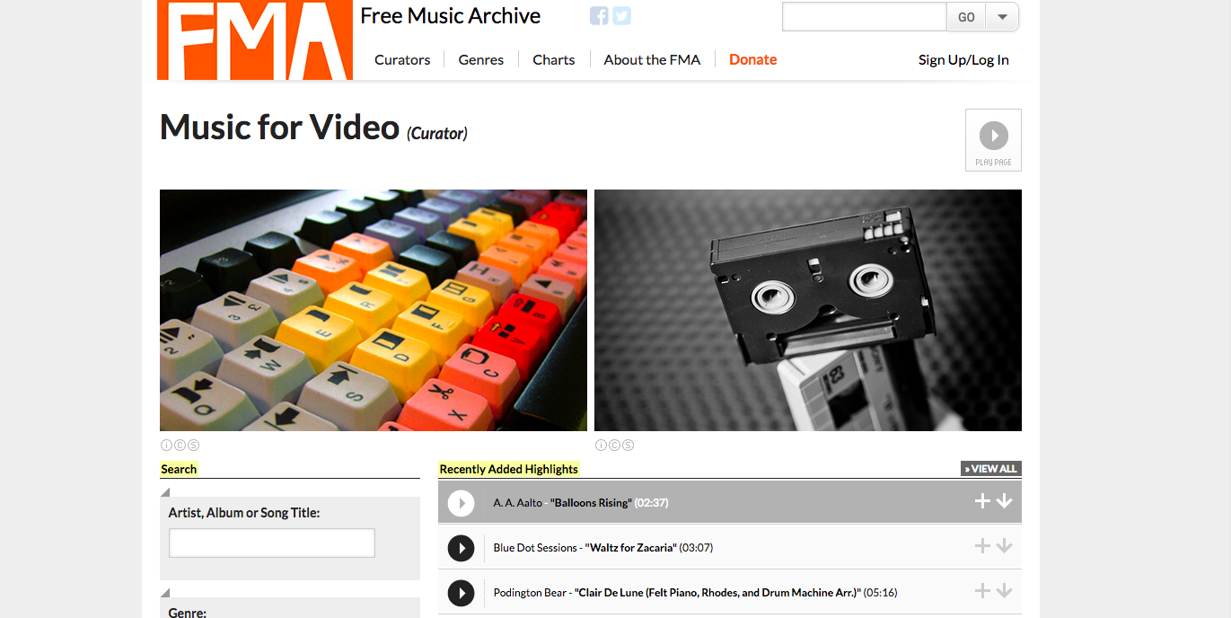 musica senza copyright, musica gratis per video