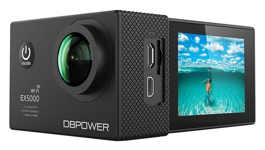 DBPower, videocamera sportiva, migliori action cam