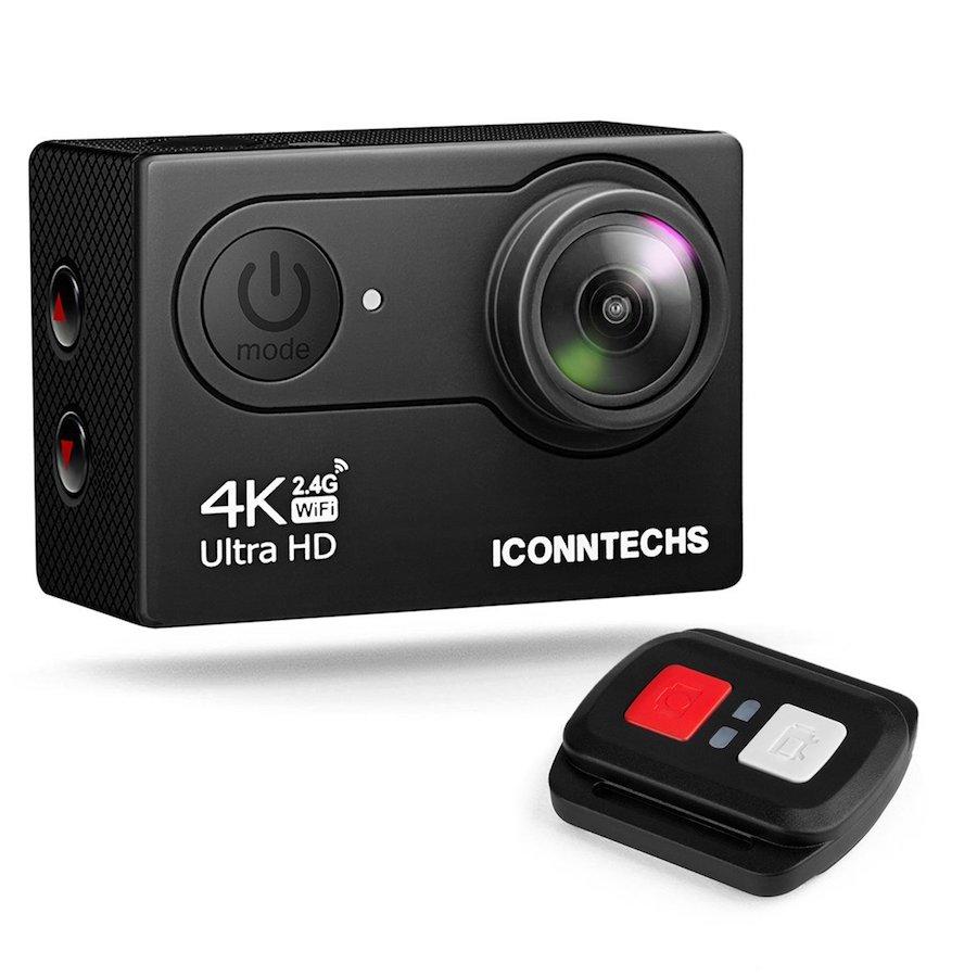 ICONNTECHS IT Action Camera 4K, le migliori action cam, videocamera sportiva