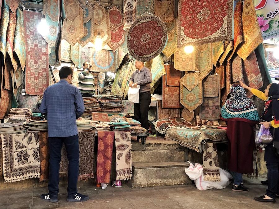 shiraz, vakil bazaar, viaggio iran, cosa vedere in iran