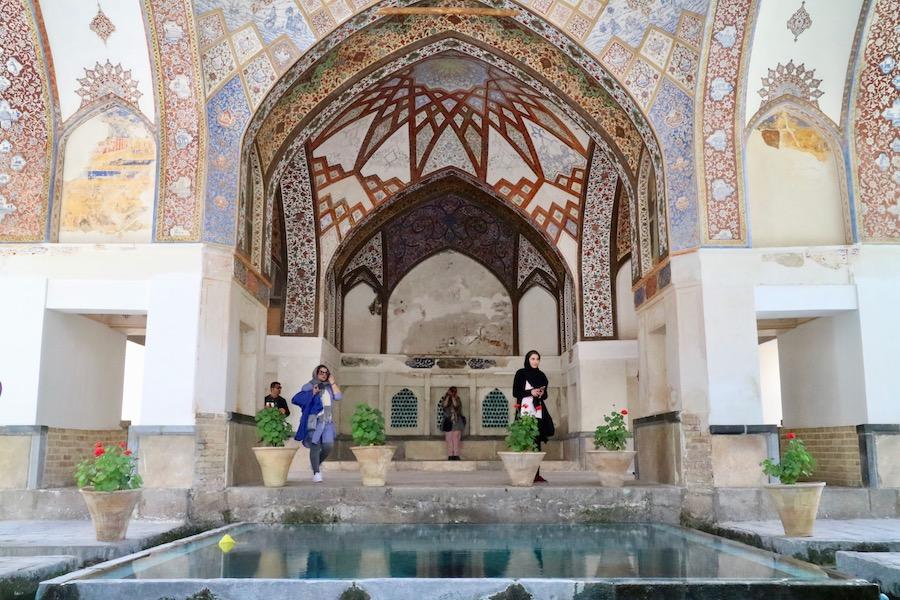 kashan, giardino fin, viaggio iran, cosa vedere in iran