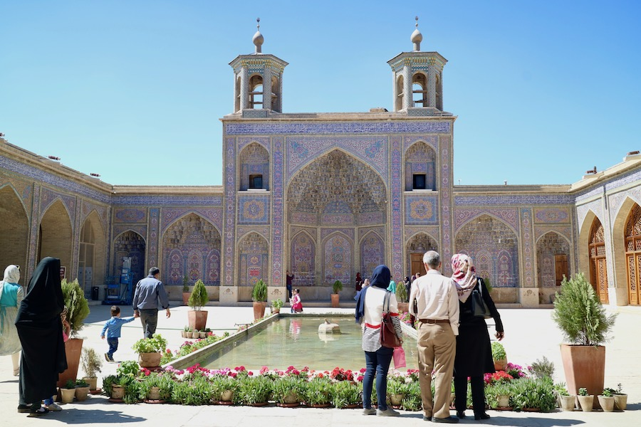 Moschea di Nasir ol-Molk, cosa vedere in iran, viaggio in iran, iran, shiraz