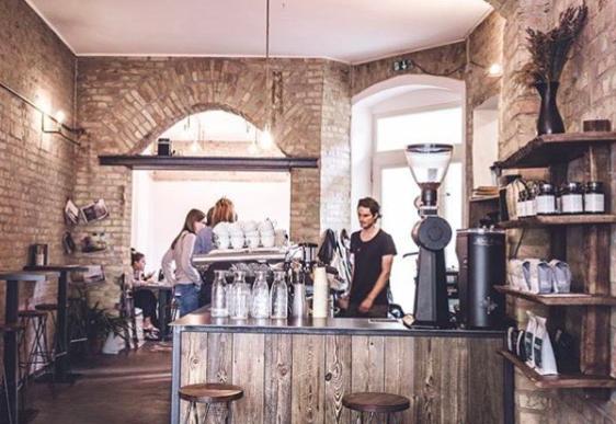cosa fare a berlino, distrikt coffee, mitte, brunch