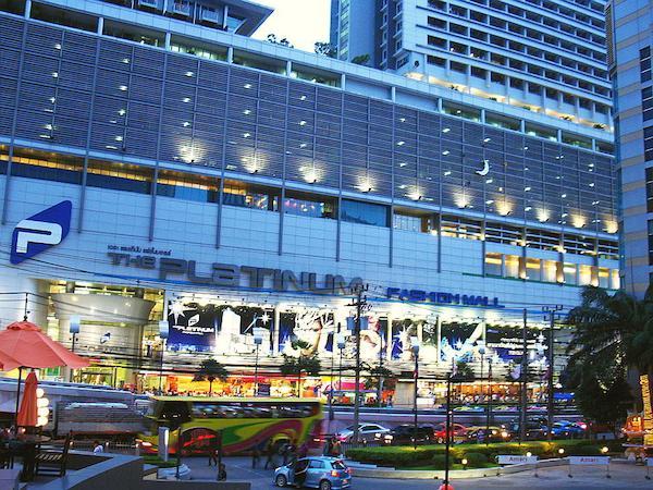cosa fare a bangkok, cosa vedere a bangkok, centri commerciali a bangkok, platinum fashion mall