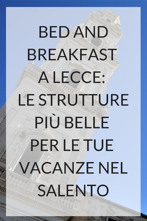 bed and breakfast lecce, dimora dell'artista, b&b lecce