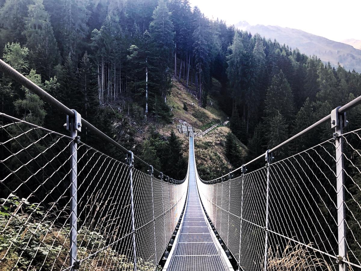 Cosa vedere in Trentino, cosa vedere in val di sole, trentino alto adige, ponte sospeso