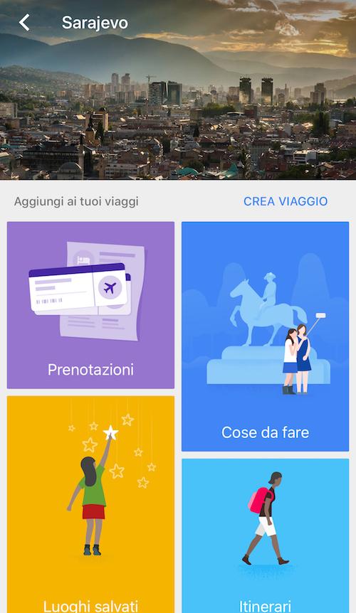 app per organizzare viaggi, app per viaggiare, google trips