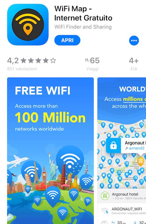 app per organizzare viaggi, app per viaggiare, app per trovare wifi