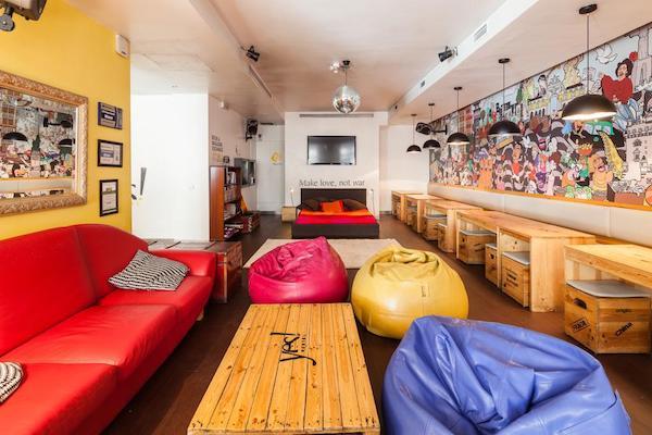 yes lisbon hostel, dove dormire a lisbona, dove alloggiare a lisbona, hotel a lisbona