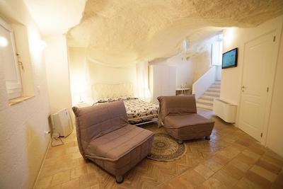il belvedere, ostello dei sassi, dove dormire a matera, hotel a matera, dormire nei sassi di matera, alloggiare a matera