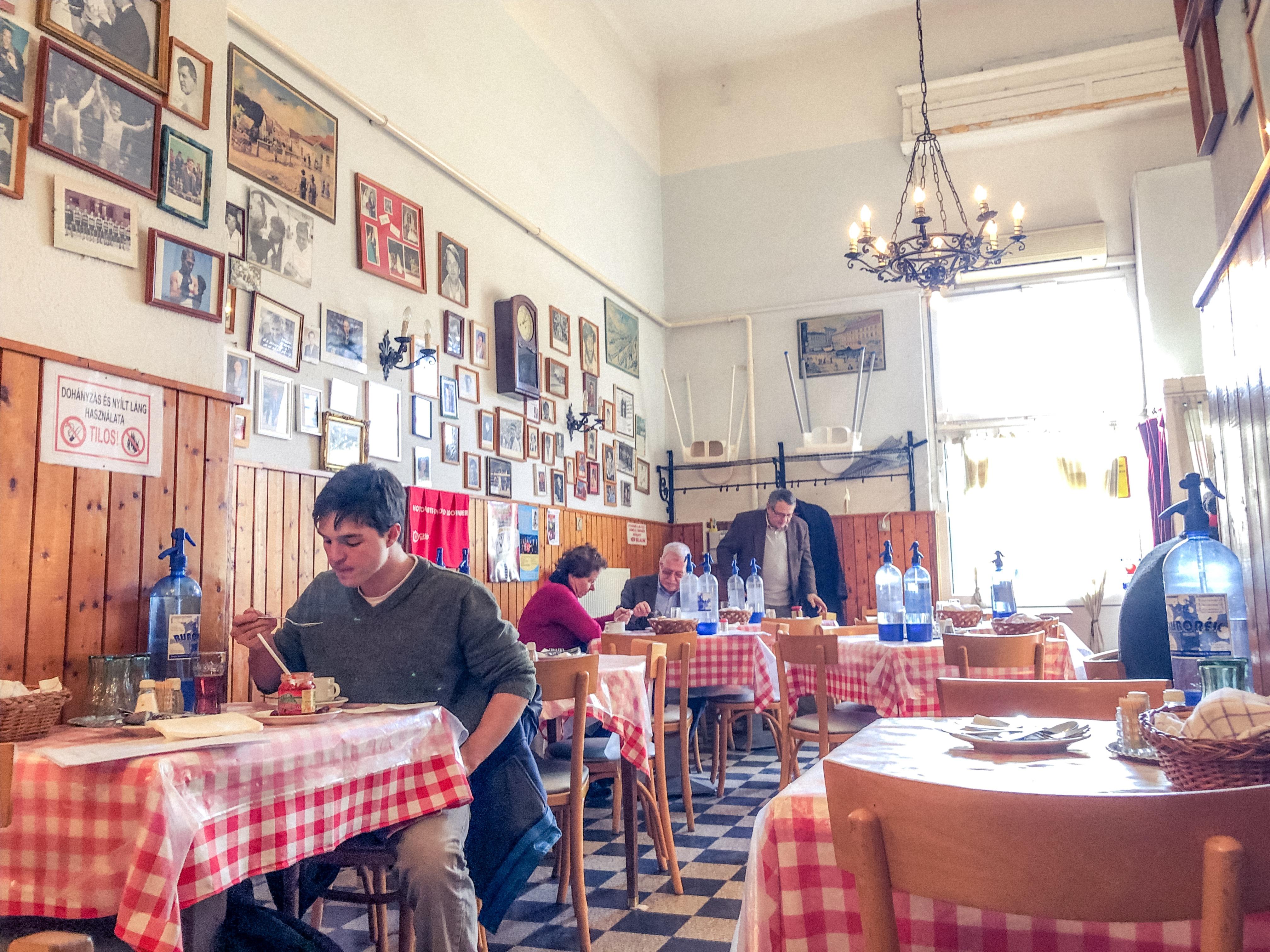 dove mangiare a budapest, ristoranti a budapest