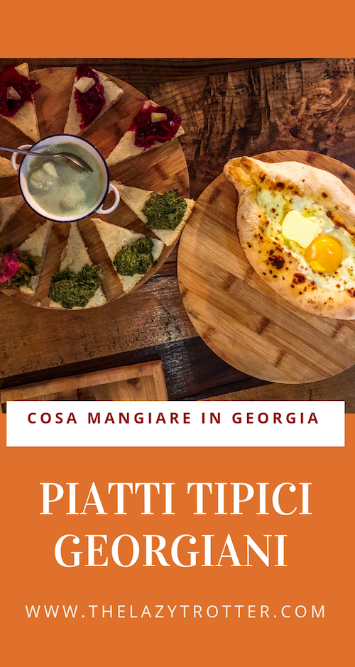 piatti tipici georgiani, cucina georgiana, cibo georgiano