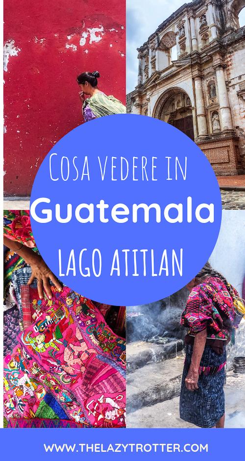 cosa vedere in guatemala, lago atitlan