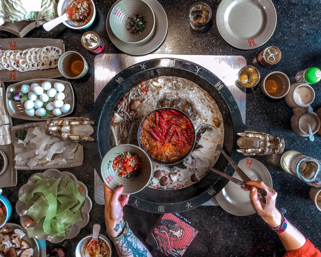HotPot, cucina cinese, cosa mangiare in cina, viaggio in cina