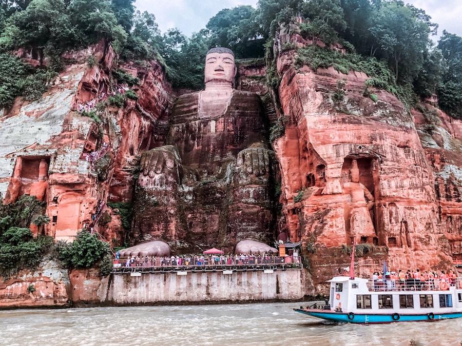 leshan, buddha gigante, cosa vedere in cina, viaggio in cina