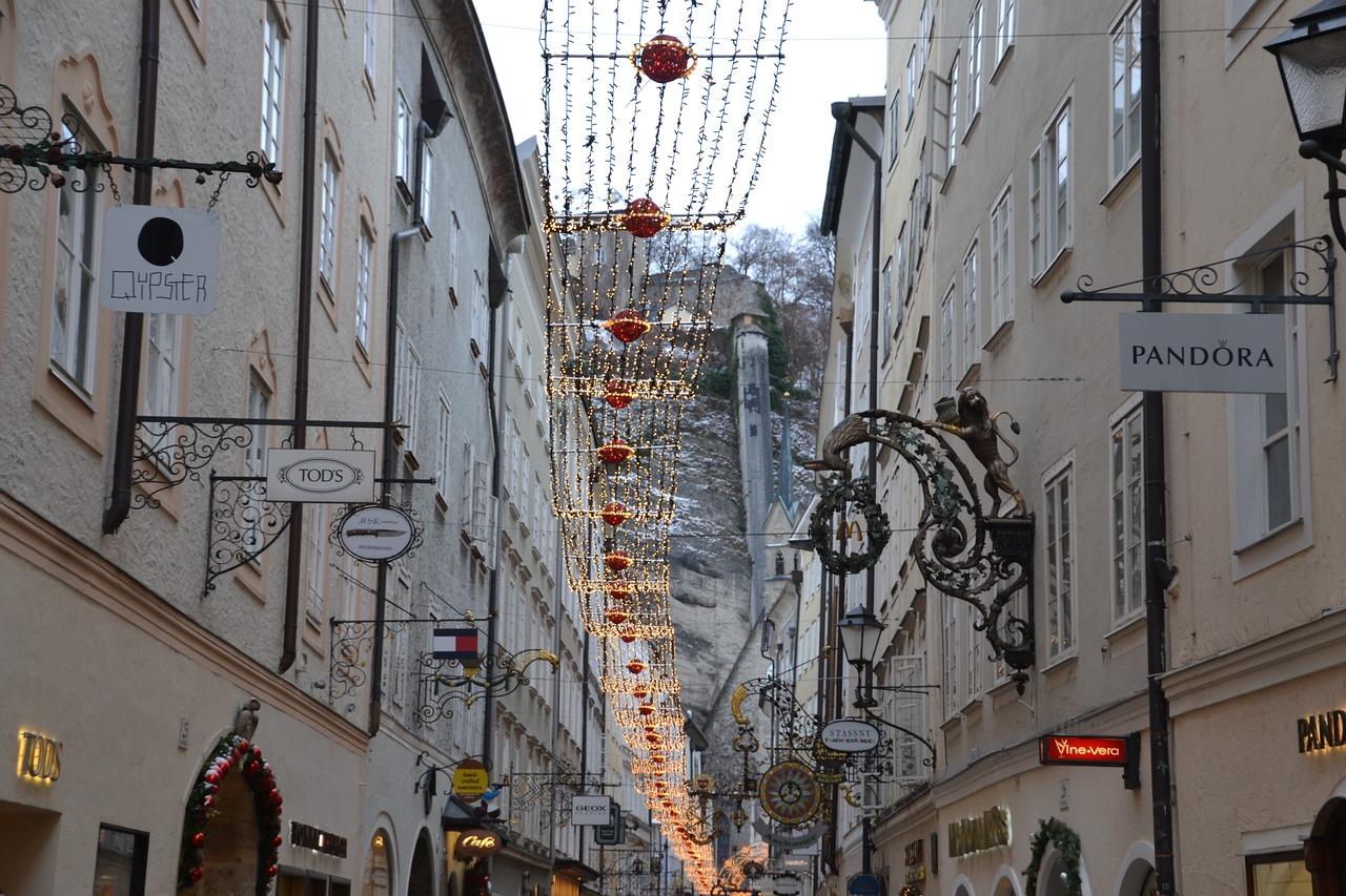 dove passare le vacanze di natale, salisburgo